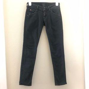 Hudson Women Size 25 Black Jeans Skinny Stretch